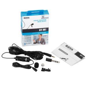 BOYA BY-M1 sound equipment for filmmaking